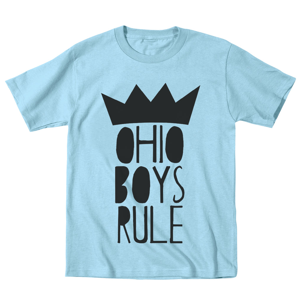 Ohio Boys Rule Toddler T-Shirt - Clothe Ohio - Soft Ohio Shirts