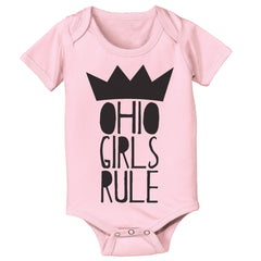 Ohio Girls Rule Baby One Piece