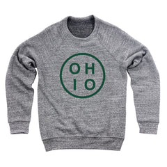 Circle Ohio Forest Green Men's Ultra Soft Sweatshirt