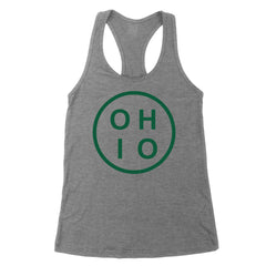 Circle Ohio Forest Green Women's Tank