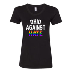 Ohio Against Hate Women's Fit Soft Blend T-Shirt