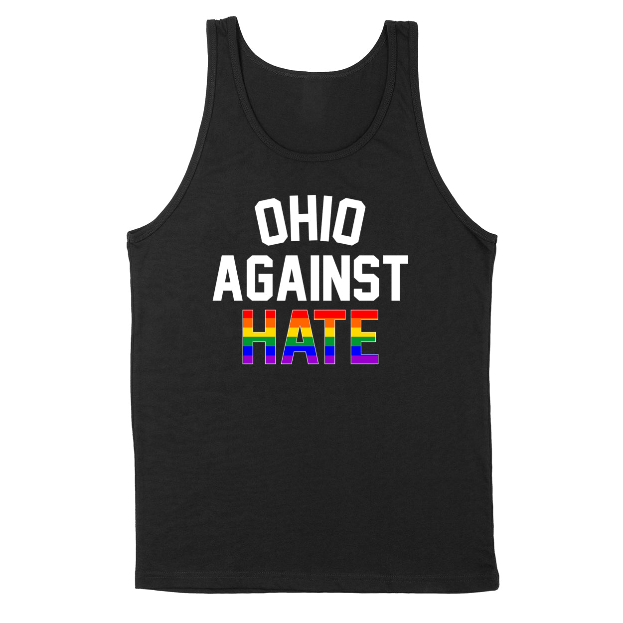 Ohio Against Hate Men's Unisex Tank