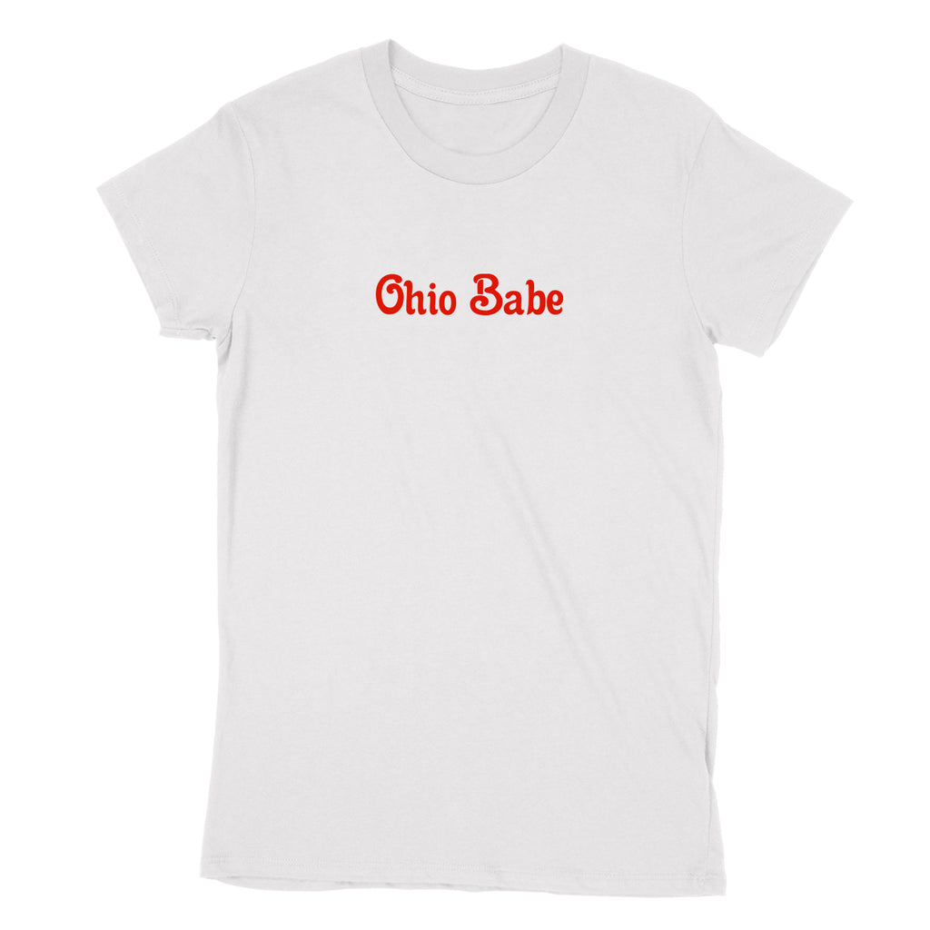 Ohio Babe Women's T-Shirt - Clothe Ohio - Soft Ohio Shirts