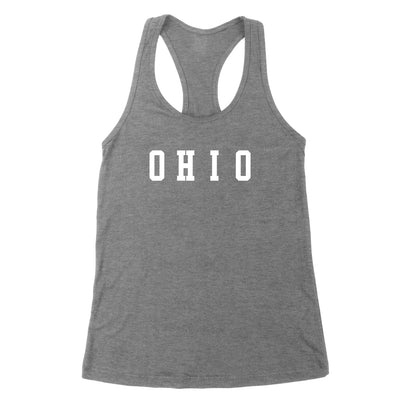 Ohio Varsity Small Women's Tank - Clothe Ohio - Soft Ohio Shirts