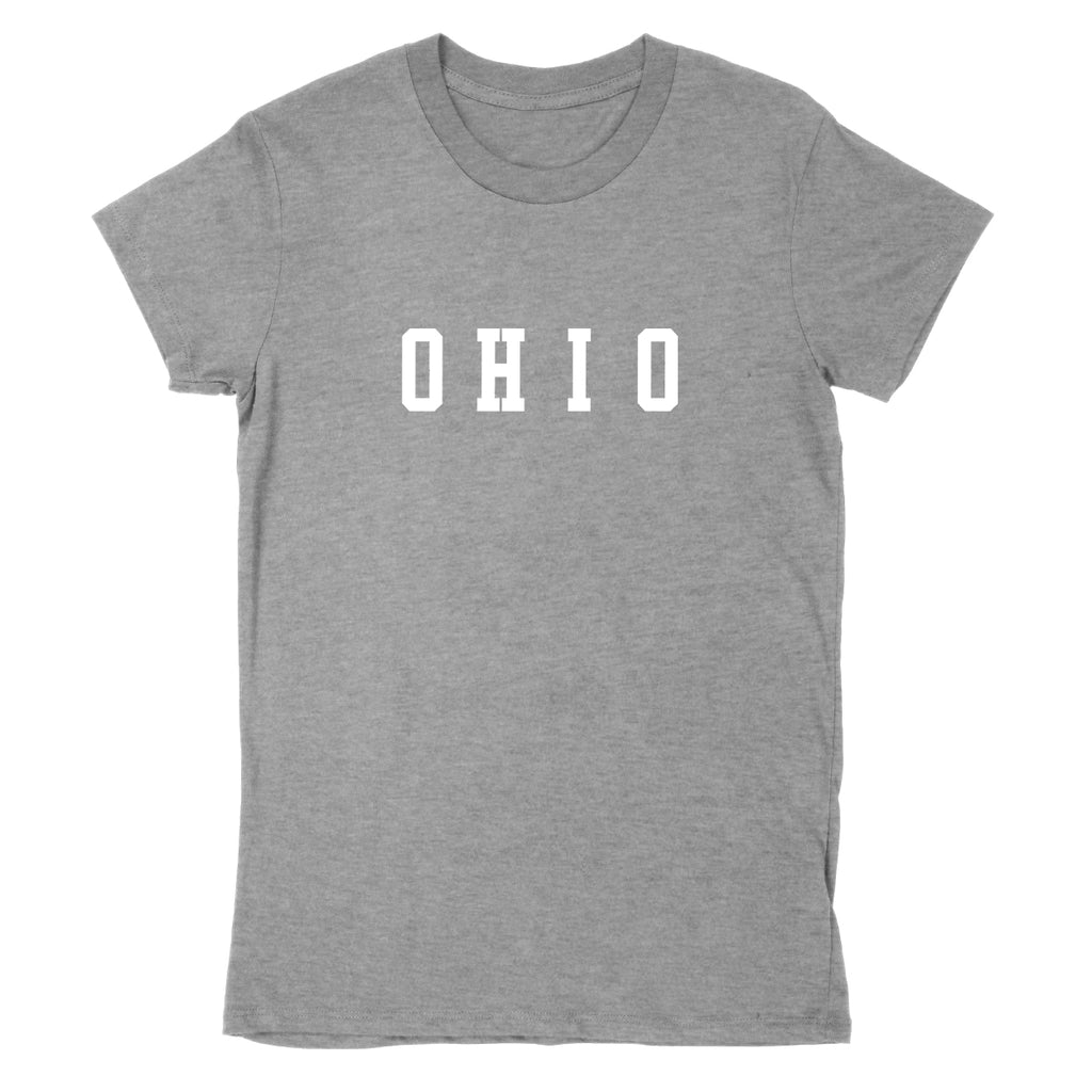Ohio Varsity Small Women's T-Shirt - Clothe Ohio - Soft Ohio Shirts
