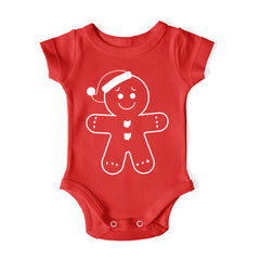 6M - Ohio Gingerbread - Baby One Piece
