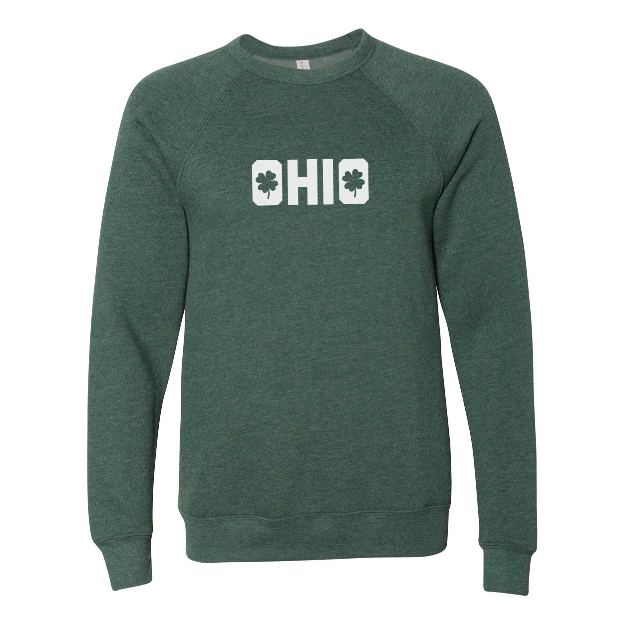 Shamrocks in Ohio Ultra Soft Sweatshirt - Clothe Ohio - Soft Ohio Shirts