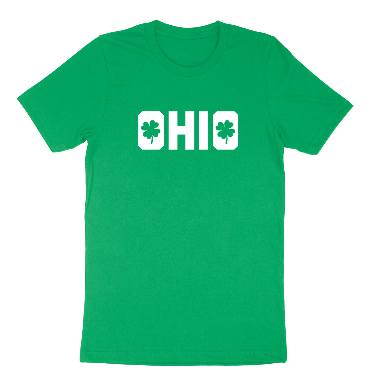 Shamrocks in Ohio Men's T-shirt - Clothe Ohio - Soft Ohio Shirts