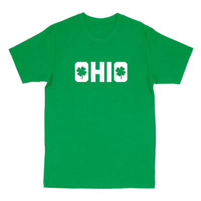 Shamrocks in Ohio Youth T-Shirt - Clothe Ohio - Soft Ohio Shirts