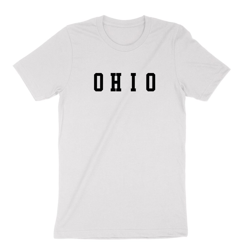 Ohio Varsity Black Youth T-Shirt - Clothe Ohio - Soft Ohio Shirts