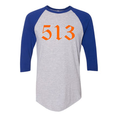 513 Gothic Orange Raglan T-Shirt
