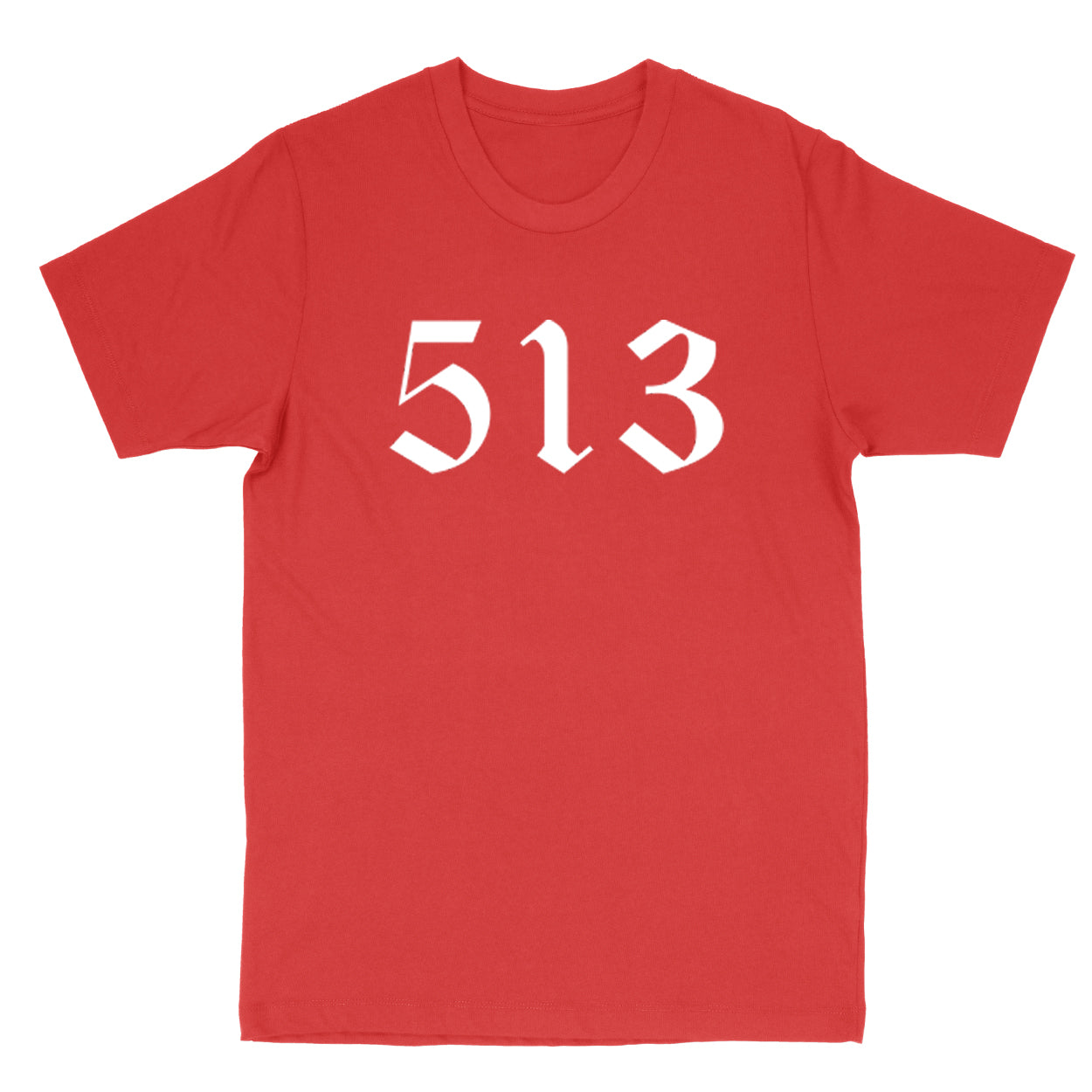 513 White Men's T-Shirt - Clothe Ohio - Soft Ohio Shirts