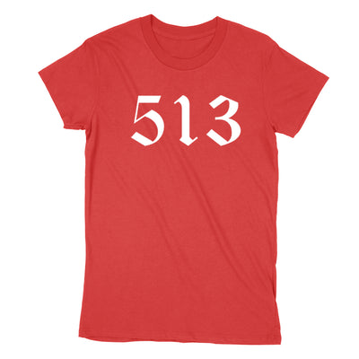 513 White Women's T-Shirt - Clothe Ohio - Soft Ohio Shirts