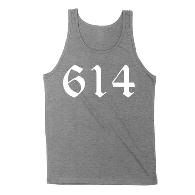 614 White Men's Unisex Tank - Clothe Ohio - Soft Ohio Shirts