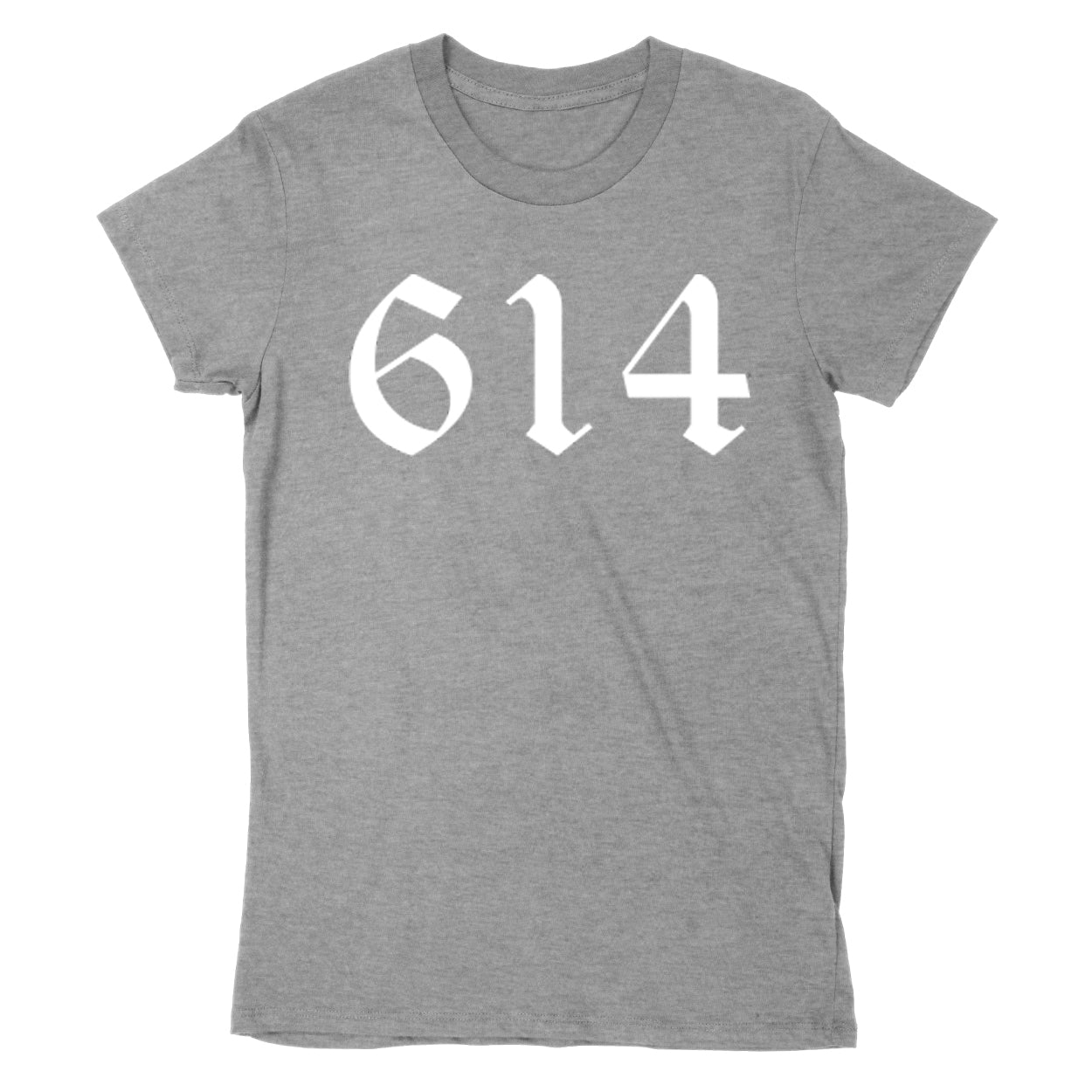 614 White Women's T-Shirt - Clothe Ohio - Soft Ohio Shirts