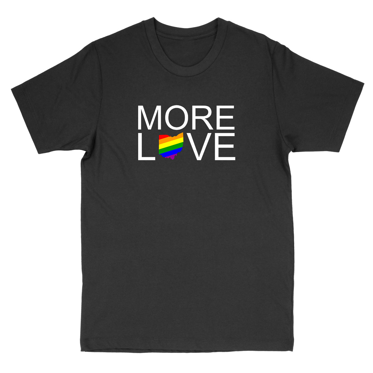 More Love Pride Ohio Men's T-Shirt
