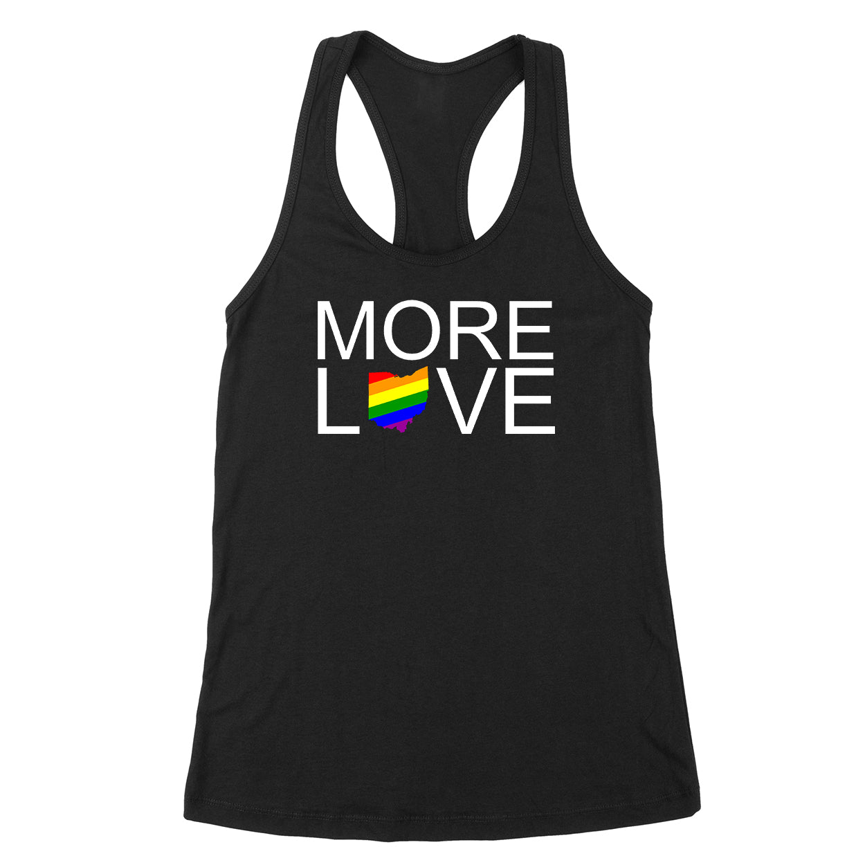 More Love Pride Ohio Women's Tank