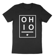 Ohio Boxed Black Youth T-Shirt