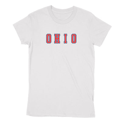 Ohio Varsity USA Women's T-Shirt - Clothe Ohio - Soft Ohio Shirts