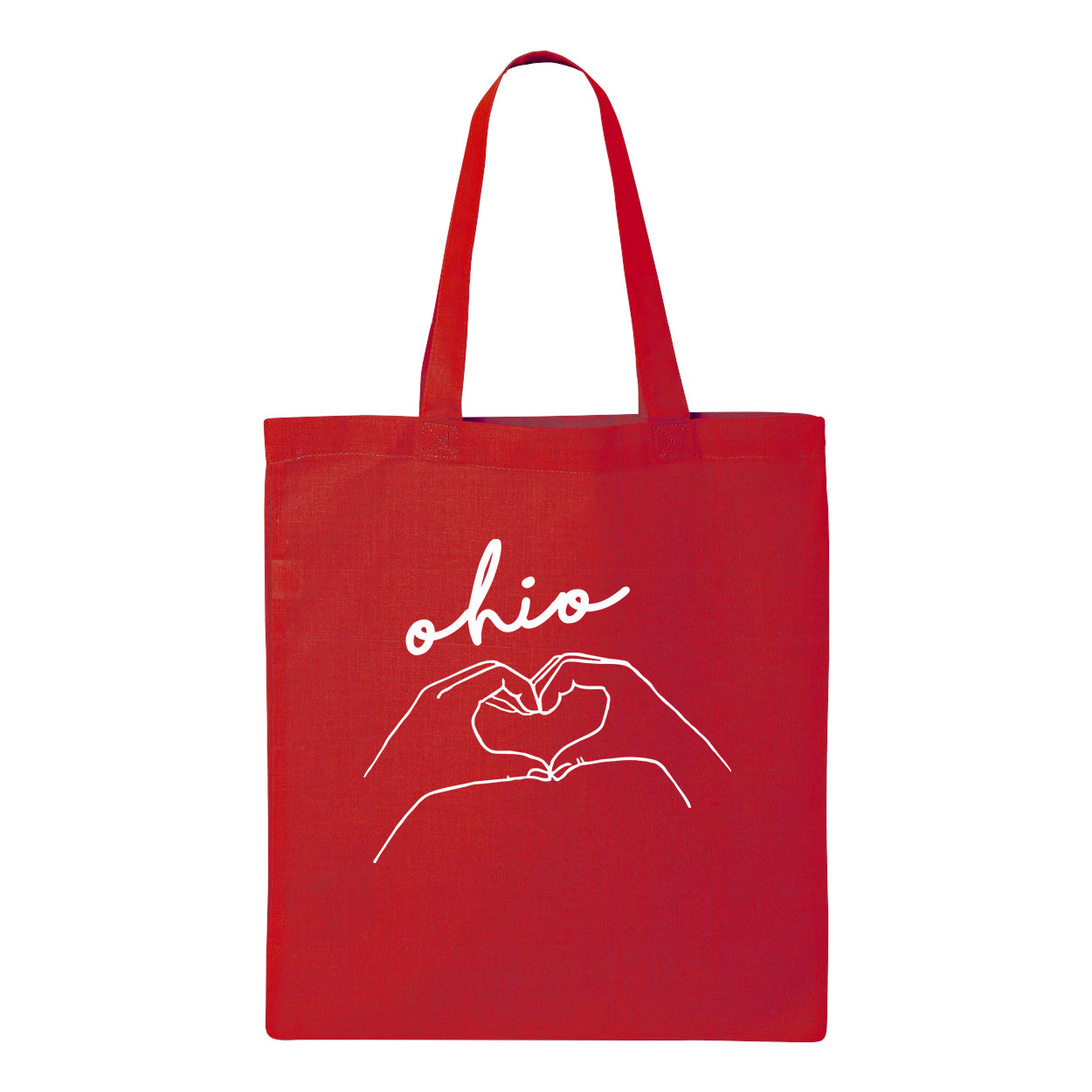 Ohio Heart Hands Tote