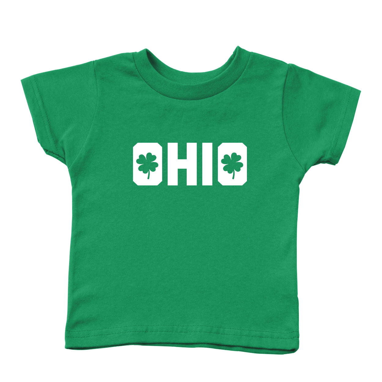 Shamrocks in Ohio Toddler T-Shirt - Clothe Ohio - Soft Ohio Shirts