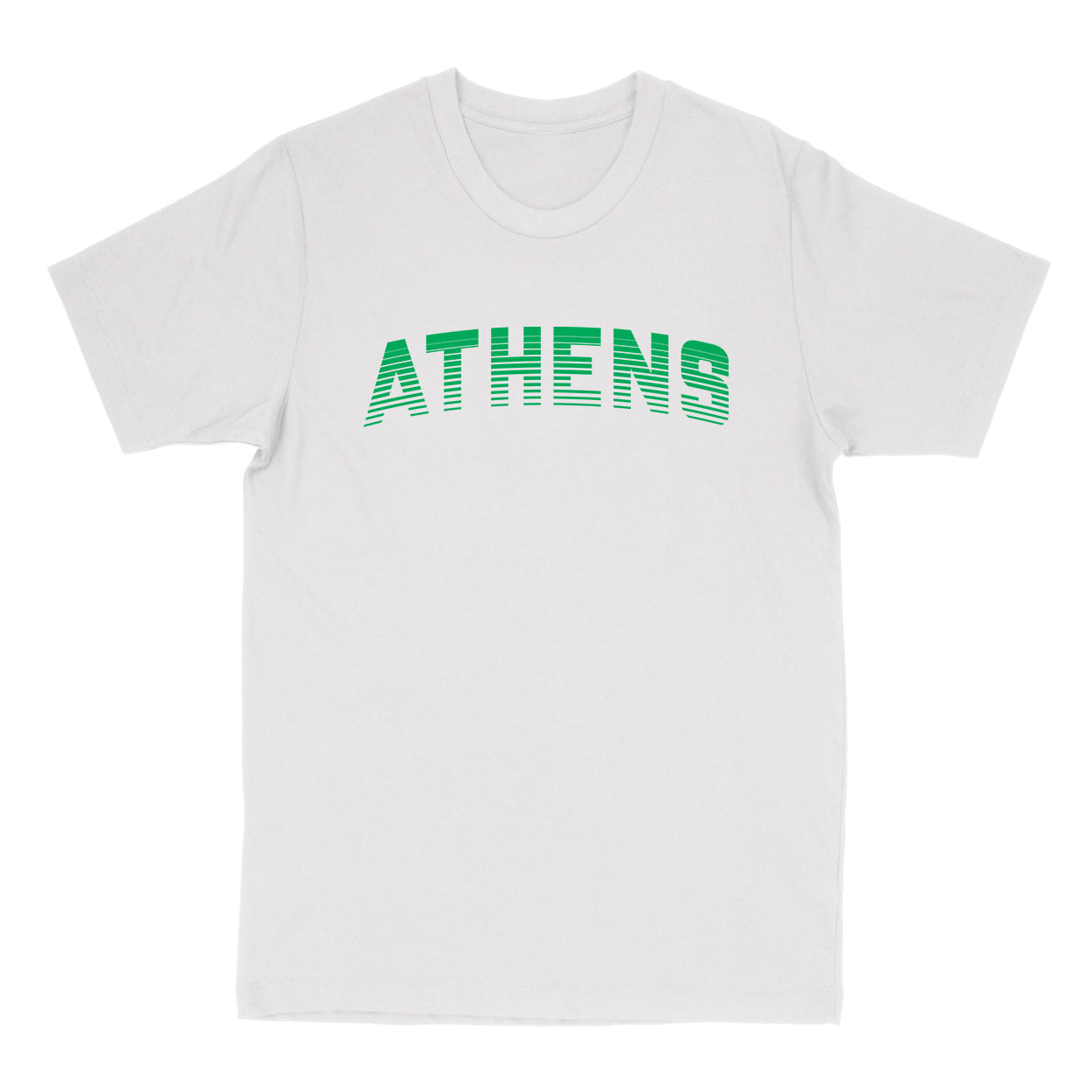 ATHENS Sport in Green Men's T-shirt - Clothe Ohio - Soft Ohio Shirts