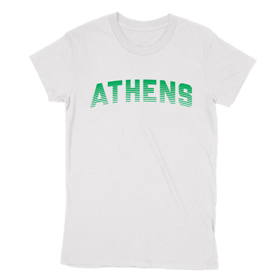 ATHENS Sport in Green Women's T-Shirt - Clothe Ohio - Soft Ohio Shirts