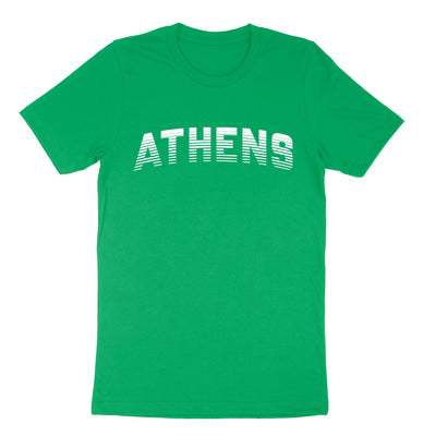 ATHENS Sport in White Men's T-shirt - Clothe Ohio - Soft Ohio Shirts