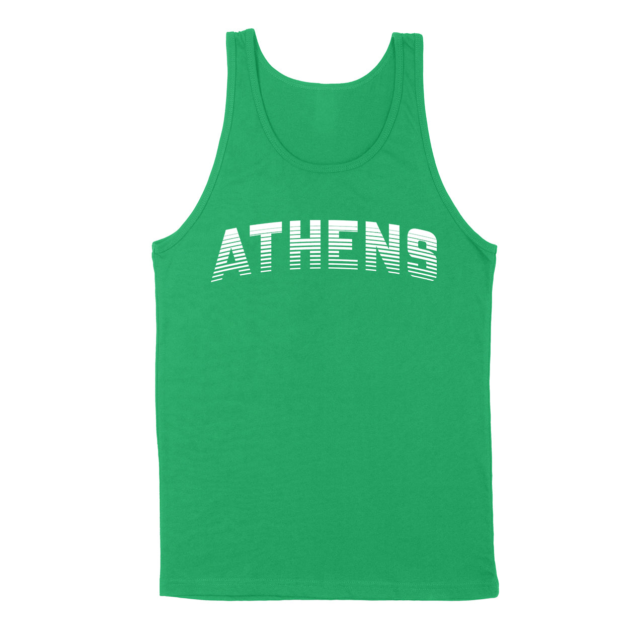 ATHENS Sport in White Men's Unisex Tank - Clothe Ohio - Soft Ohio Shirts