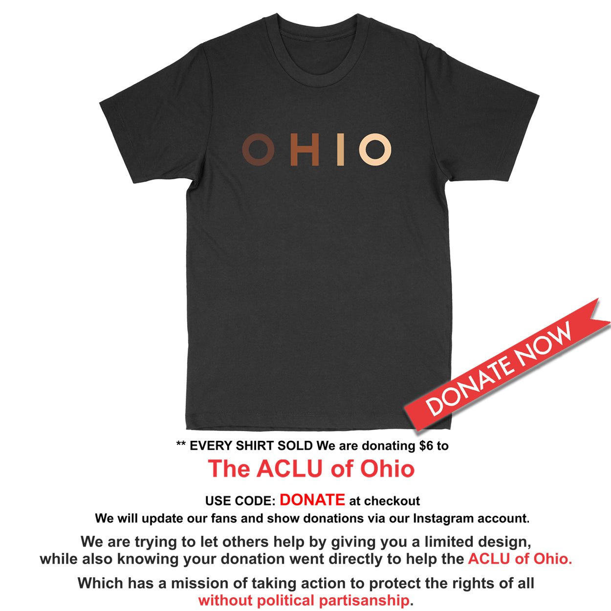 OHIO United - Donation - Men's T-Shirt