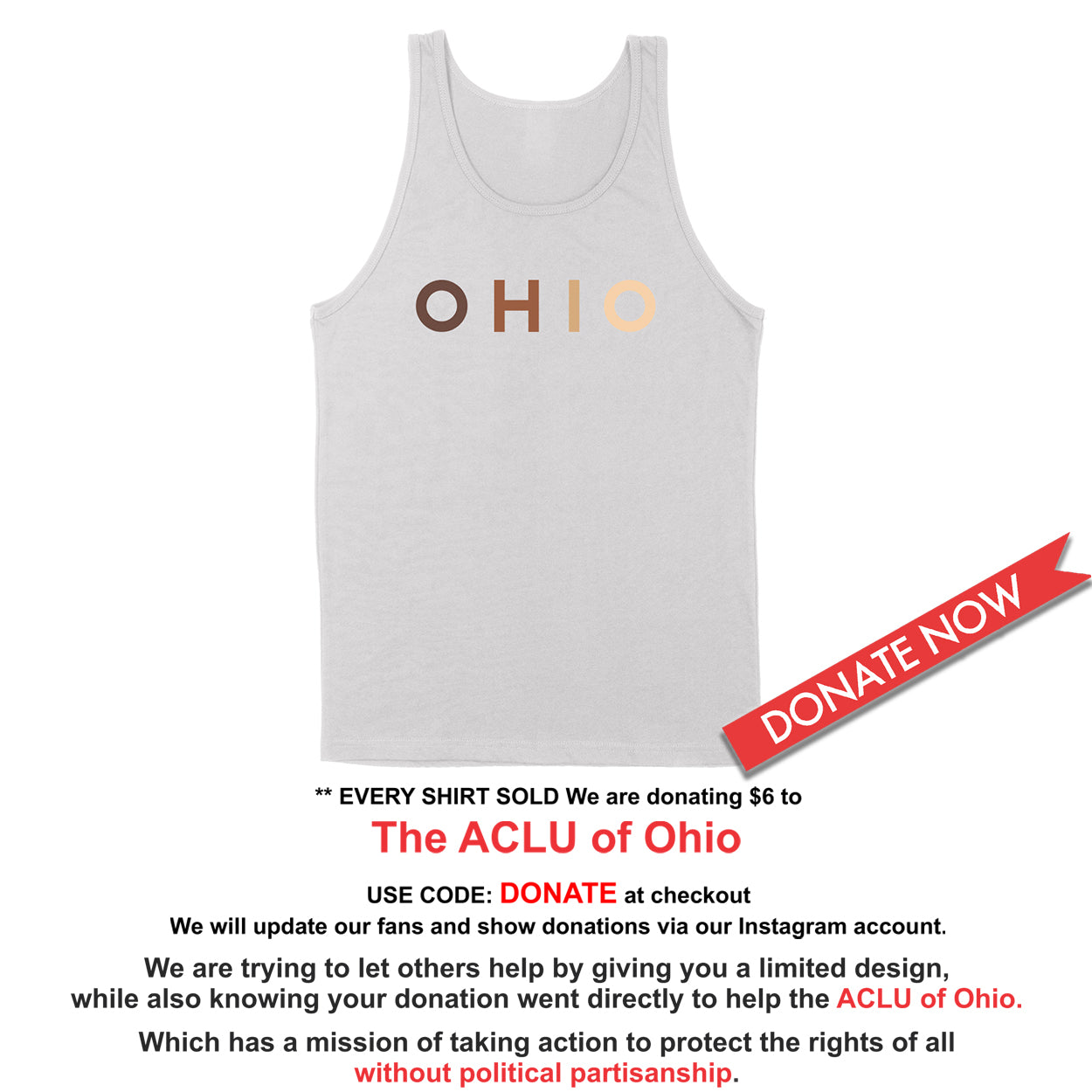 OHIO United - Donation - Unisex Tank