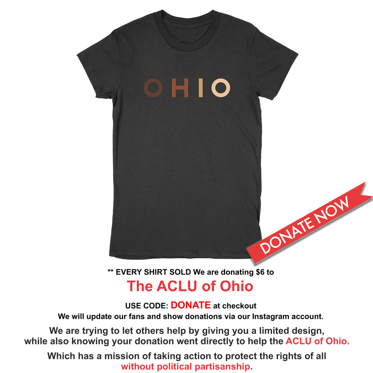 OHIO United - Donation - Women's T-Shirt