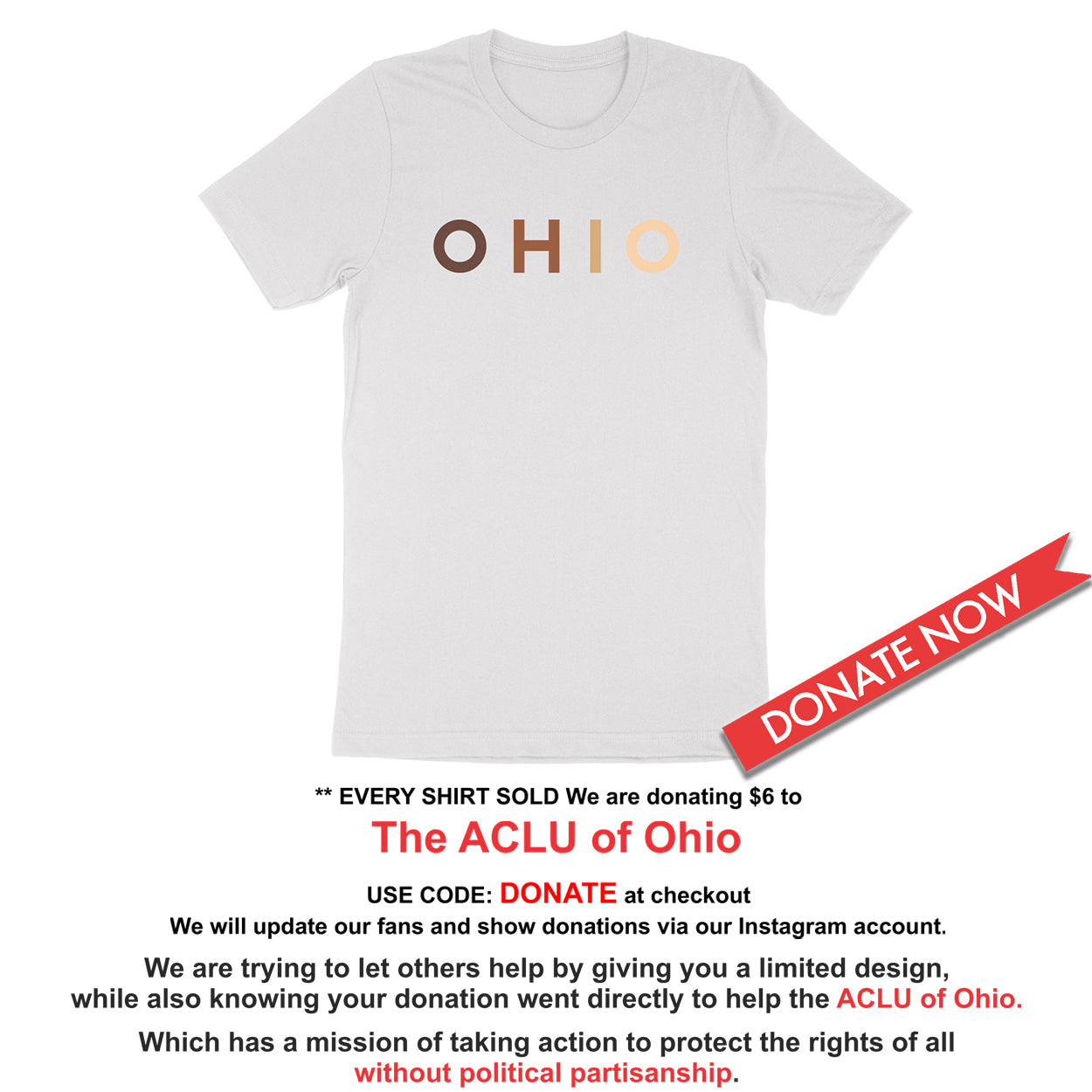 OHIO United - Donation - Youth T-Shirt