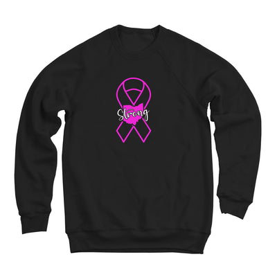 Ohio Strong Pink Ribbon Ultra Soft Sweatshirt