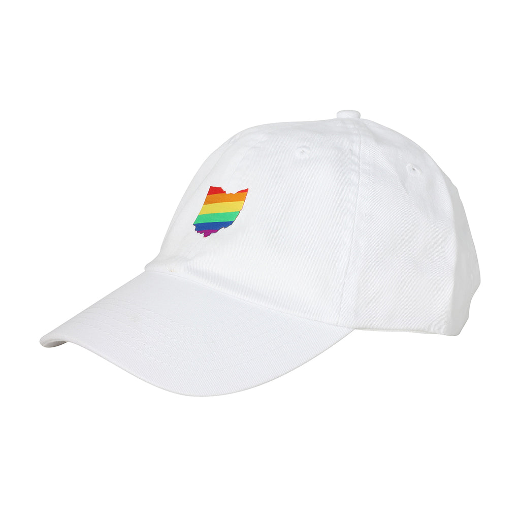 Pride Ohio Dad Hat - Clothe Ohio - Soft Ohio Shirts