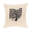 Ohio Tree Of Life Throw Pillow - Clothe Ohio - Soft Ohio Shirts