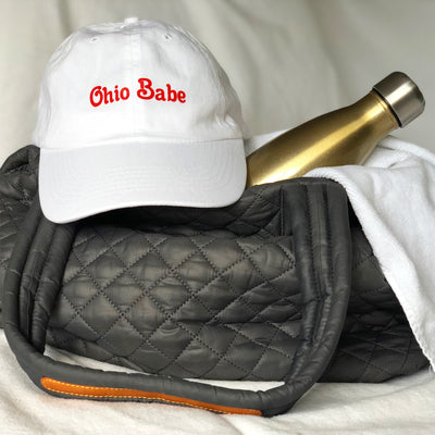 Ohio Babe Dad Hat - Clothe Ohio - Soft Ohio Shirts