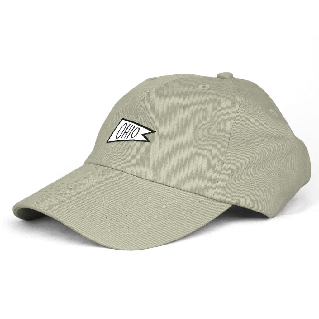 Ohio Sports Flag Dad Hat - Clothe Ohio - Soft Ohio Shirts