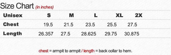 Ultra Soft Hooded Sweatshirt Size Chart