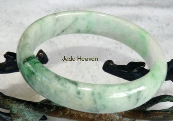 Discounts on Heavenly Old Mine Lao Pit Jadeite Bangle Bracelets