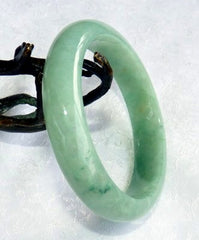 """China's Favorite"" Every Day Burmese Jadeite Bangle Bracelets with Certificate-Grade A"