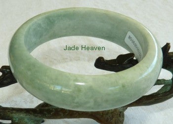 Gorgeous Green Jadeite Bangle 59mm A Grade + Certificate (755)