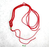 """Dragon Whisker"" Silk Knotted Adjustable Cord for Pendant"