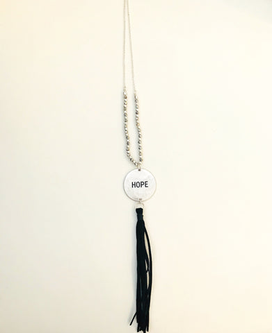 Hope Mantra Necklace