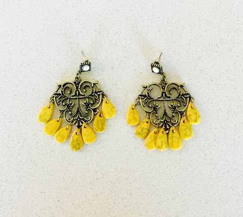 Summer Bliss Drop Earrings