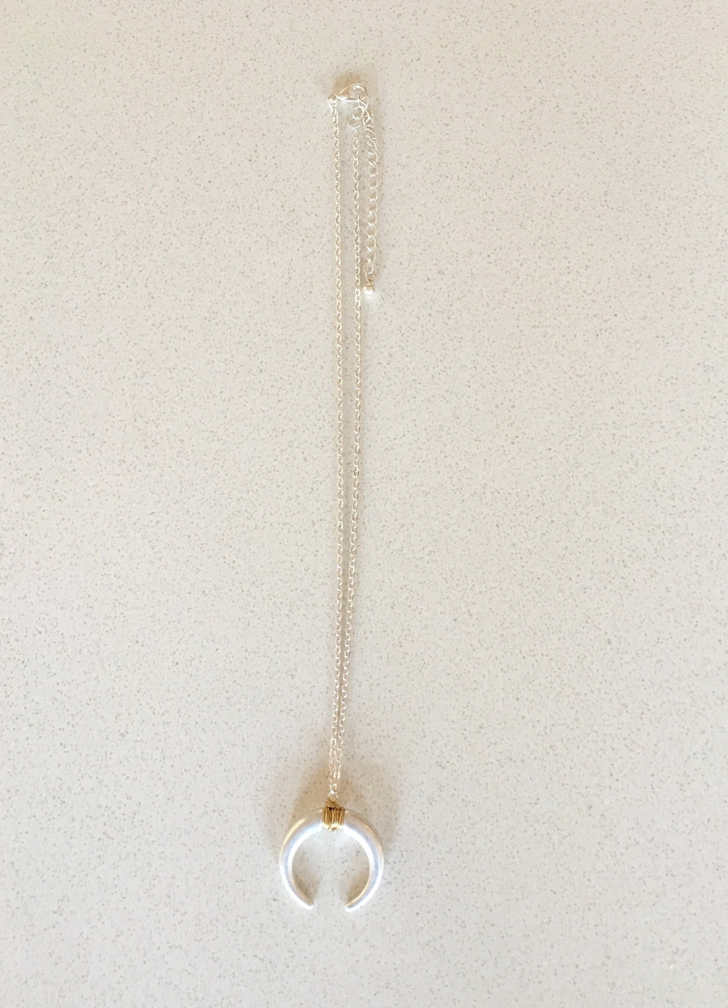 Silver or Gold Pendant Necklace