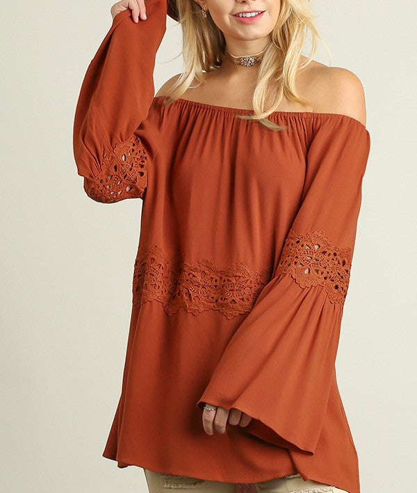 Day To Evening Off The Shoulder Blouse