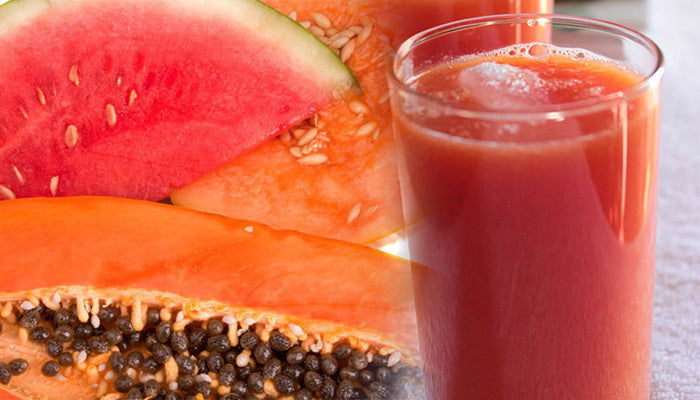 Shred those Extra Pounds with this Watermelon Papaya Smoothie