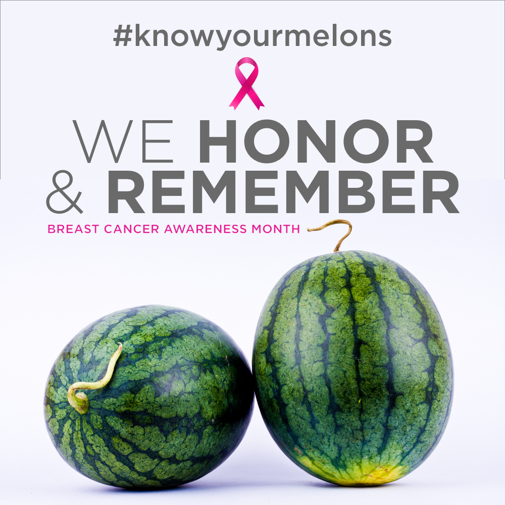 Breast Cancer Awareness Month – Love Your Melons