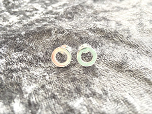 925 Silver Circle Earrings